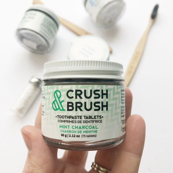 Crush and Brush - Nelson Naturals Toothpaste Tabs