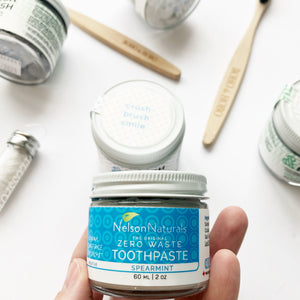 Spearmint Toothpaste - Nelson Naturals