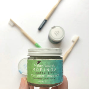 Moringa Mineral Rich Toothpaste - Nelson Naturals