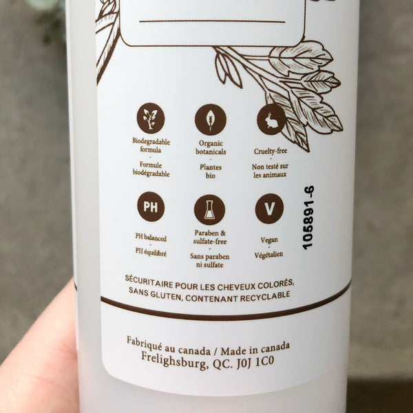 Natural Shampoo - glass bottle