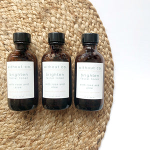 Brighten Facial Toner