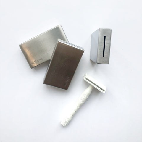 Safety Razor Blade Bank