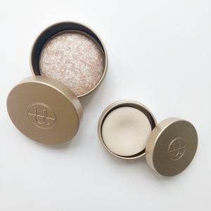 Shampoo and Conditioner Bar Gold Travel Tins