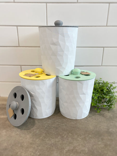 Composter - 3D printed with recycled plastic by The Rogerie