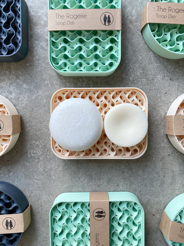 Recycled Plastic Soap Dishes - From the Rogerie