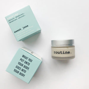 Routine Natural Deodorant - Sweet Jane
