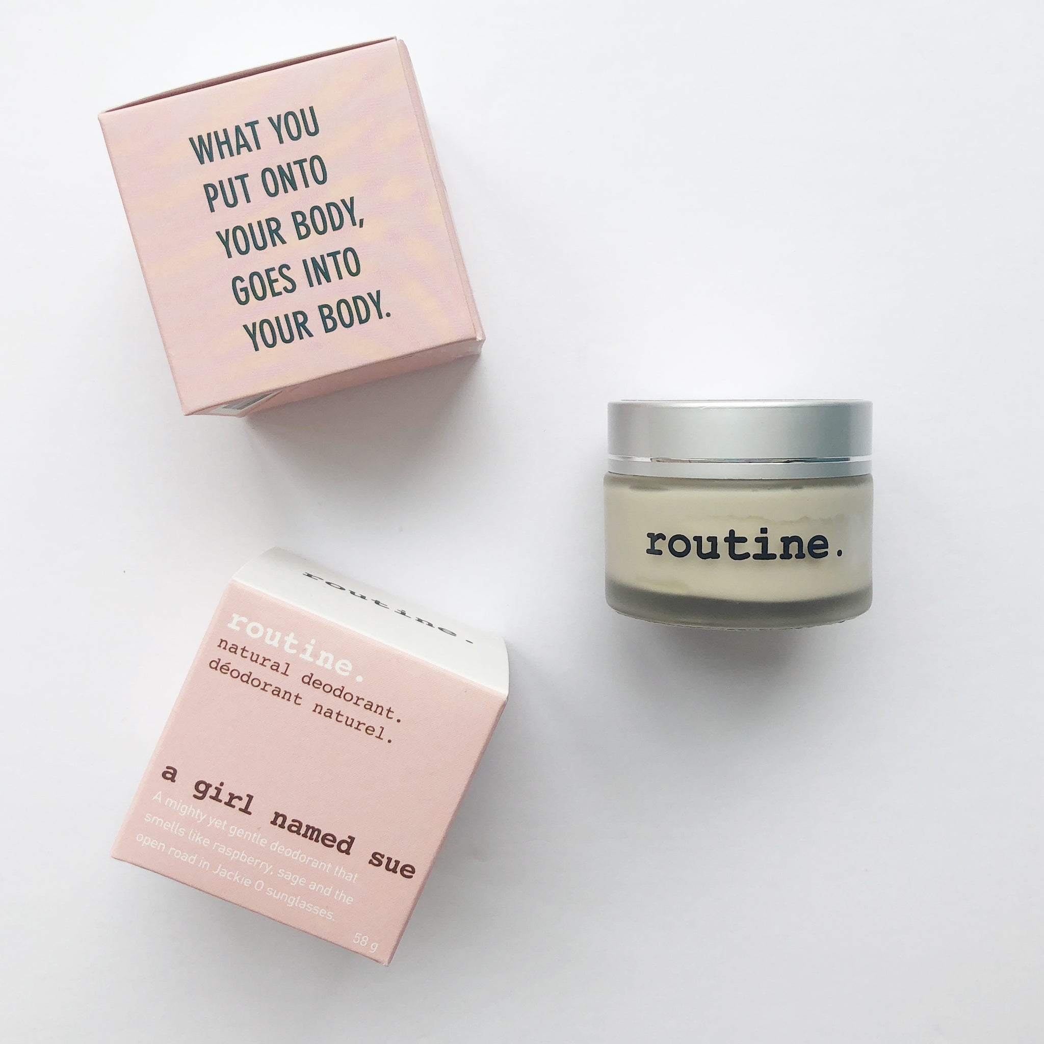 Routine Natural Deodorant - A Girl Named Sue