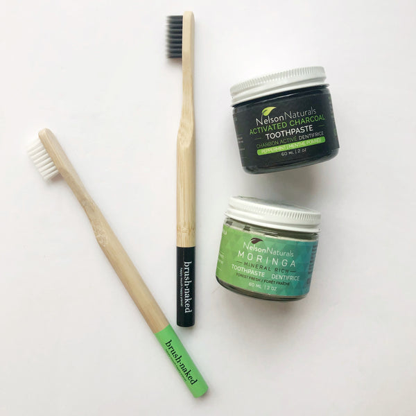 Activated Charcoal Toothpaste - Nelson Naturals