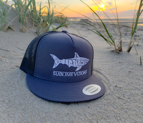 Great White Vizions - Trucker Snapback