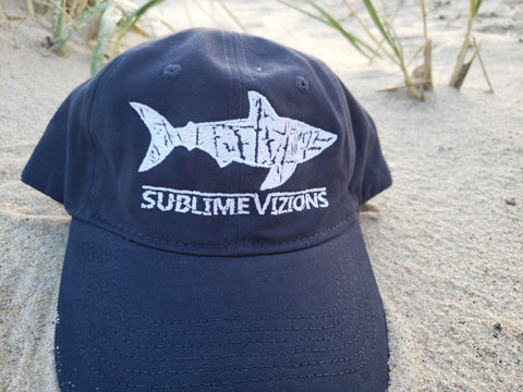 Great White Vizions - Cotton Twill Dad Hat