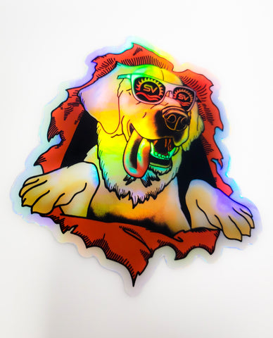Goose - Sublime Vizions - Hologram Ripper Homage Sticker