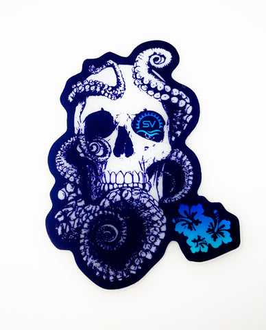 Lost Octopus - Vinyl Sticker