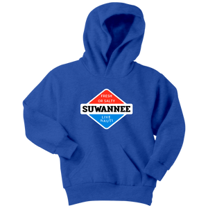 Fresh or Salty Emblem - Youth Hoodie - Suwannee™