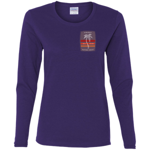 Nature Coast Solo Palm - Womens Fitted Tshirt - LS - Suwannee™