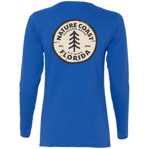 Nature Coast Rope - Womens Fitted Tshirt - LS - Suwannee™