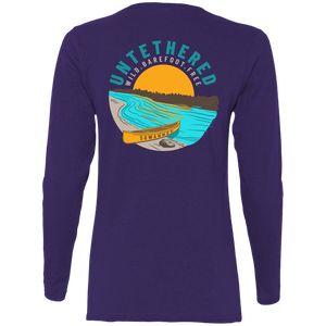 Untethered - Womens Fitted Tshirt - LS - Suwannee™
