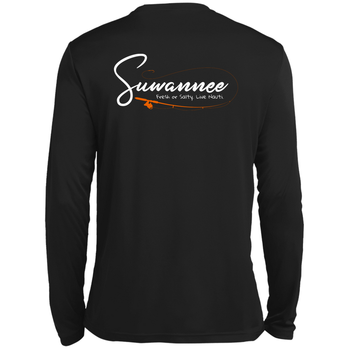 Fresh or Salty Fishing Pole - Mens Performance Tshirt - LS - Suwannee™