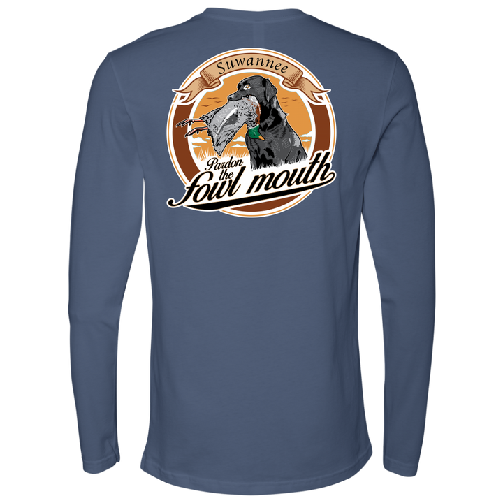 Fowl Mouth Lab with Duck - Mens Tshirt - SS/LS - Suwannee™