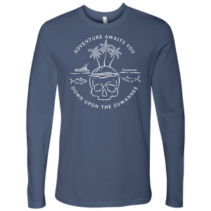 Adventure Awaits - Mens Tshirt - SS/LS - Suwannee™