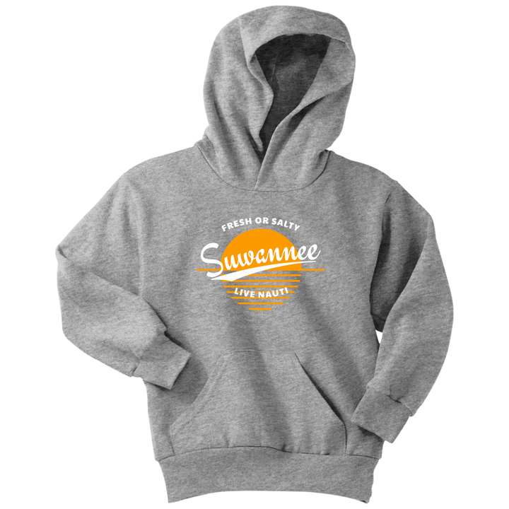 Fresh or Salty Sunset - Youth Hoodie - Suwannee™