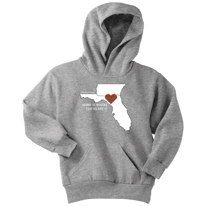 Home Is Where The Heart Is - Youth Hoodie - Suwannee™