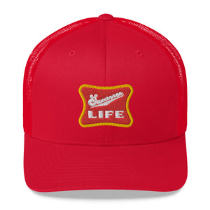 Retro Beer Logo - Snap Back Trucker Hat - Suwannee Life™