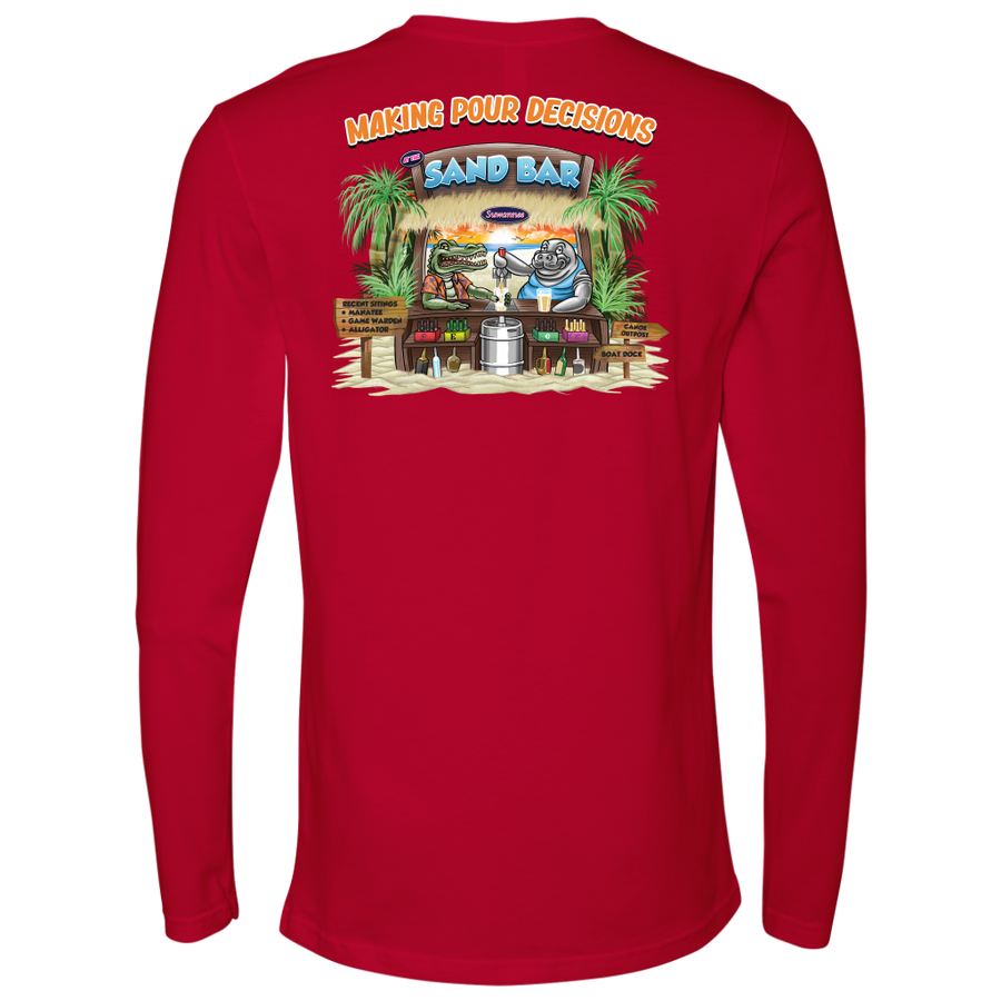Pour Decisions - Mens Tshirt - LS - Suwannee™