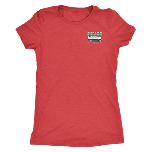 Keep Calm & Paddle On - Womens Tshirt - SS - Suwannee™