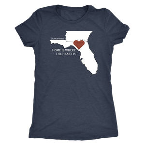 Home Is Where The Heart Is - Womens Tshirt - SS - Suwannee™