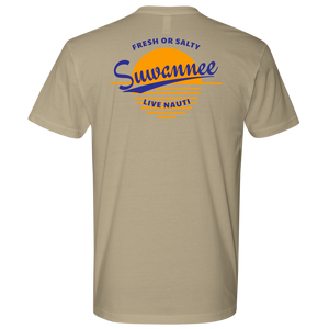 Fresh or Salty Sunset - Mens Tshirt - SS/LS - Suwannee™