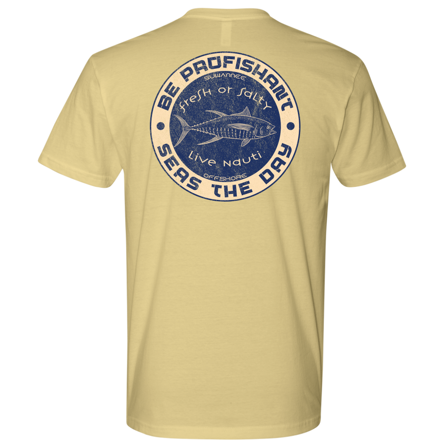 Be Profishant Seas The Day 02 - Mens Tshirt - SS/LS - Suwannee™