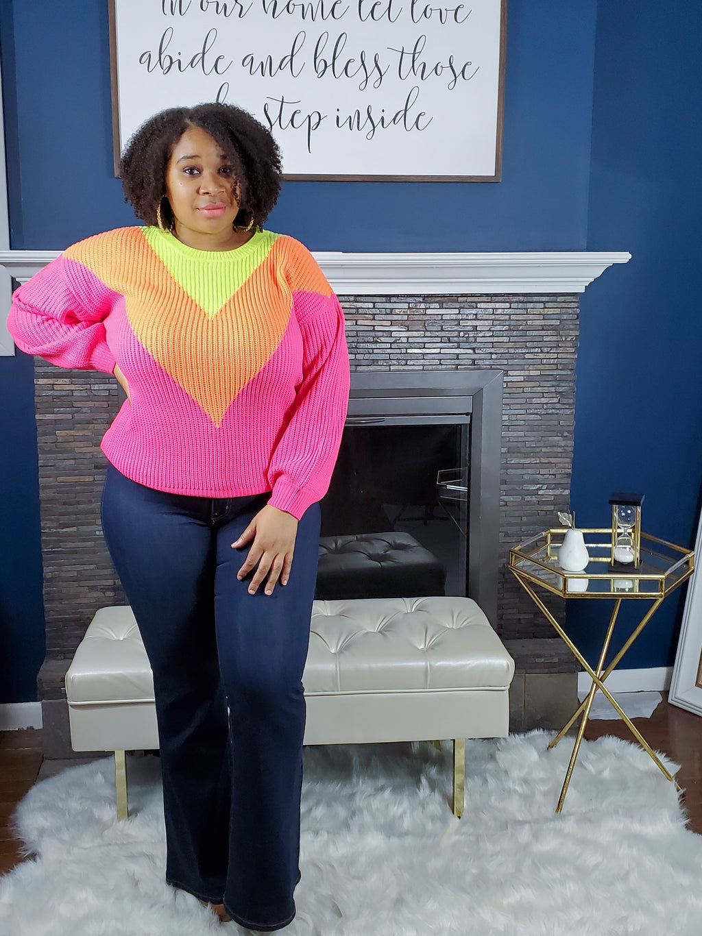 Brighter Day Sweater - Curvy
