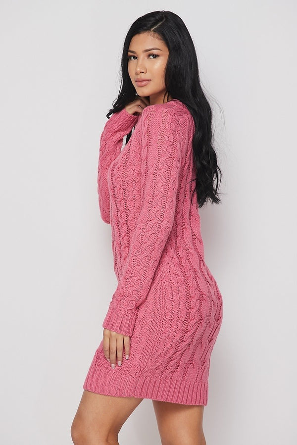 Show Me Love Sweater Dress