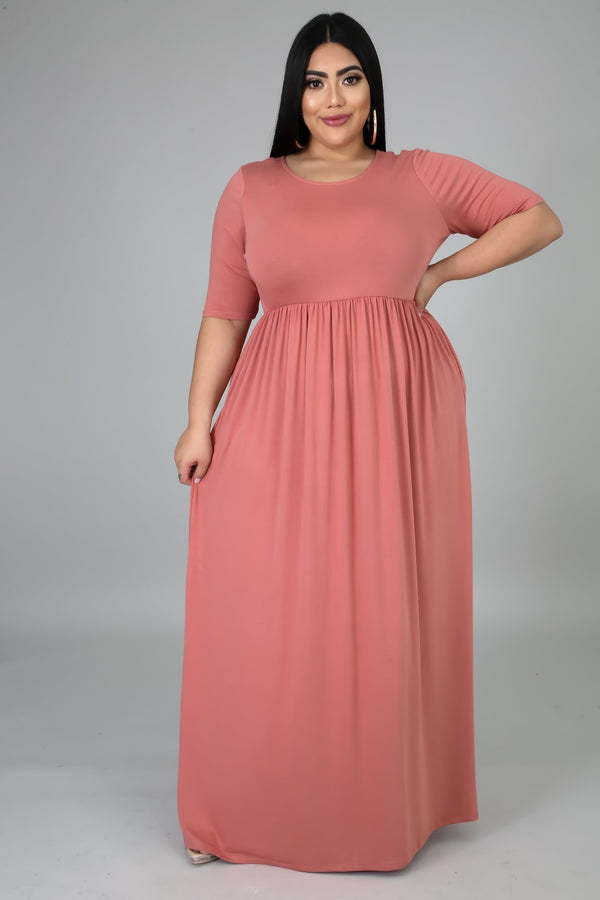 Dreaming of You Maxi- Curvy