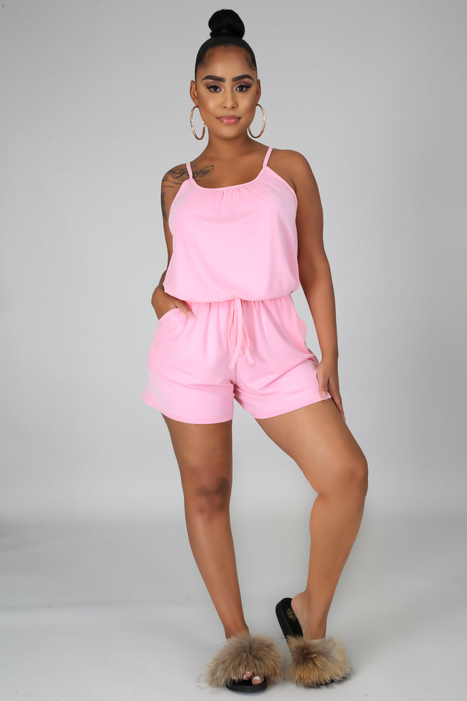Effortless Romper - Pink