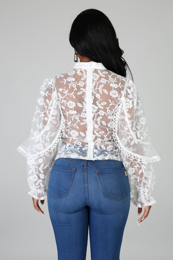 About The Lace Top