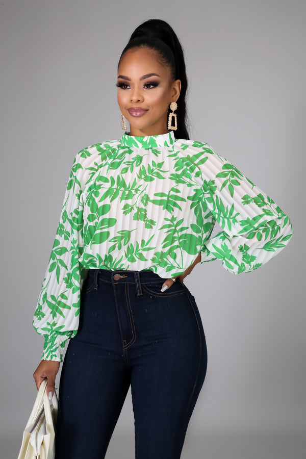 Brunch Date Blouse