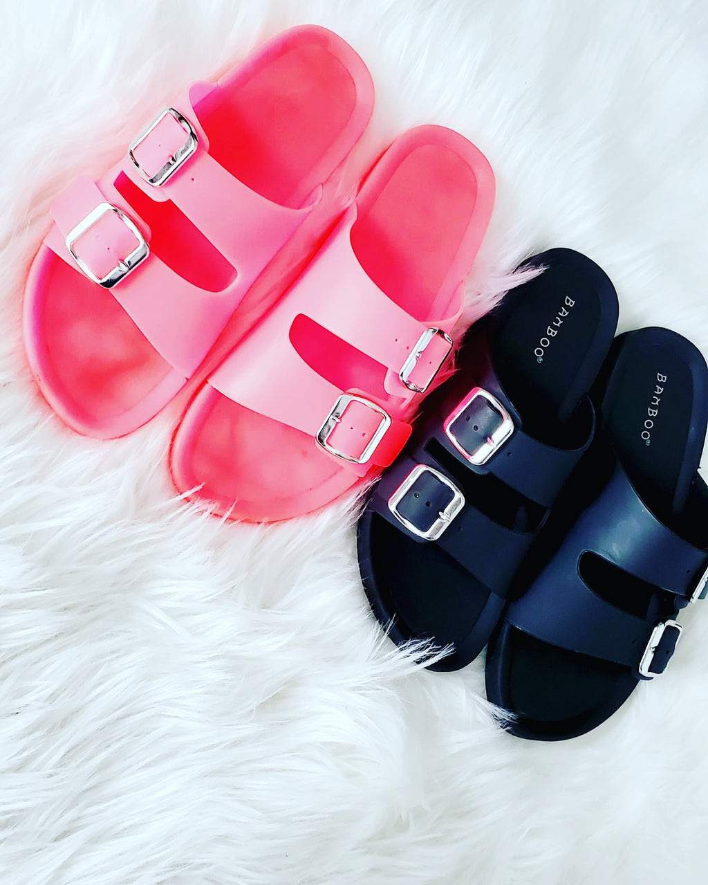 Pink Jelly Slides