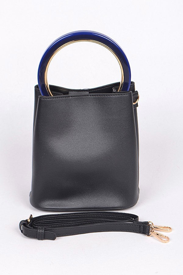 Can't Break Me Handbag- Black