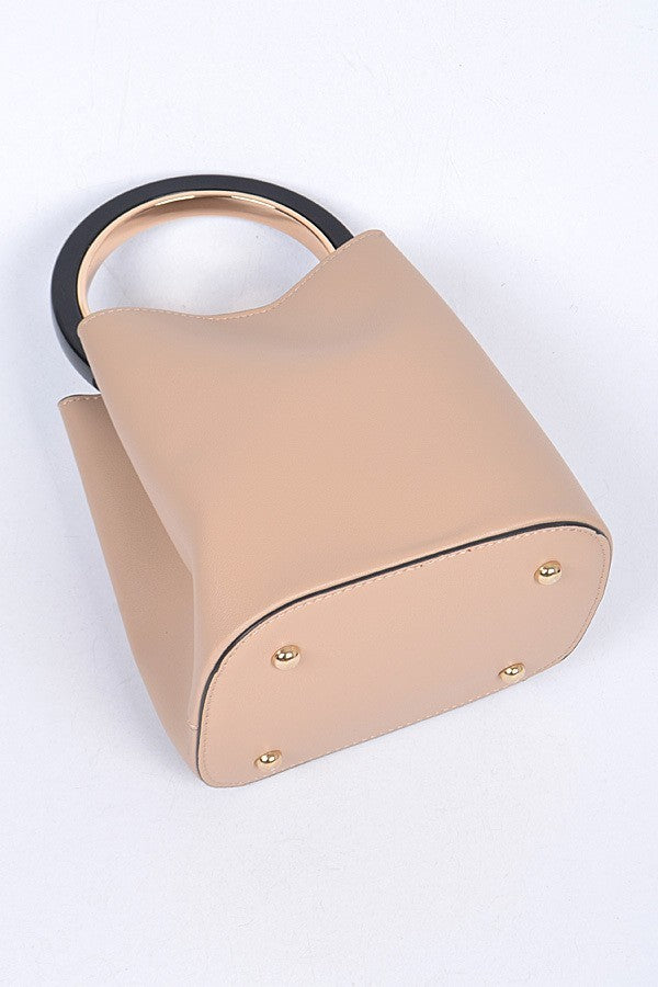 Can't Break Me Handbag- Beige