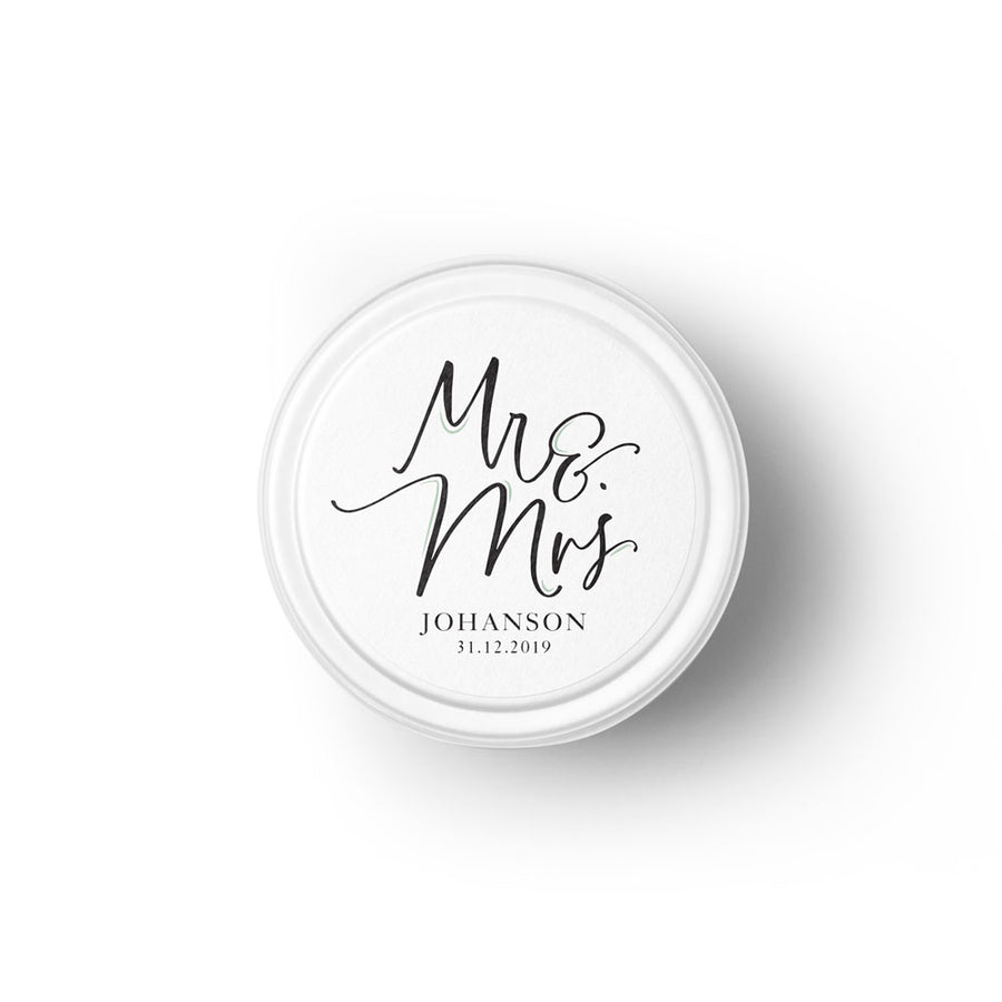 Mr & Mrs Bespoke Candle