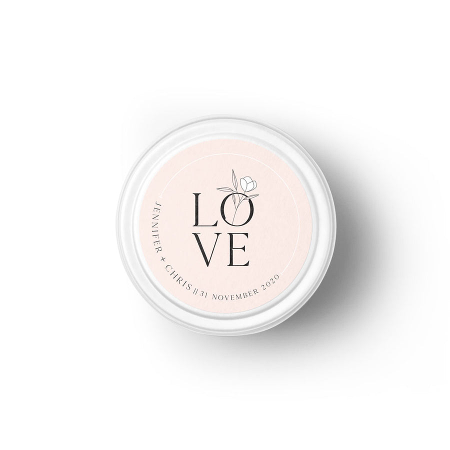 All you need is love Bespoke Candle