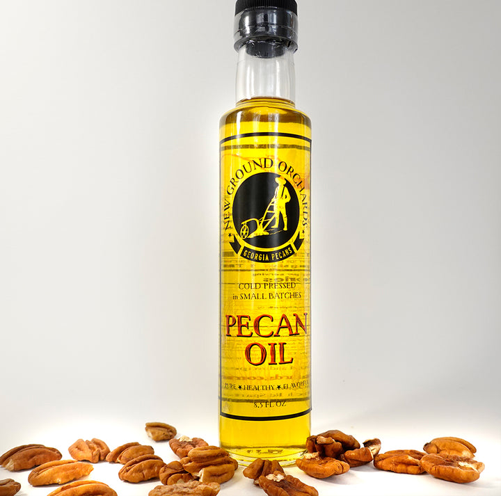 Pure Georgia Pecan Oil - 8.5 oz bottle
