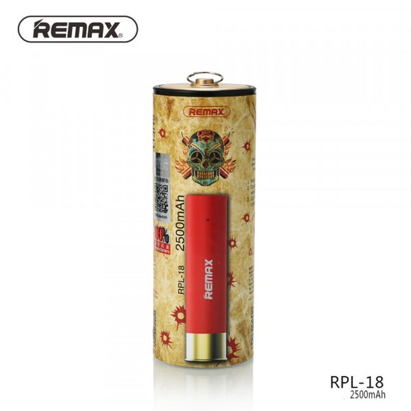 POWER BANK 2500 MAH CARTOUCHE REMAX