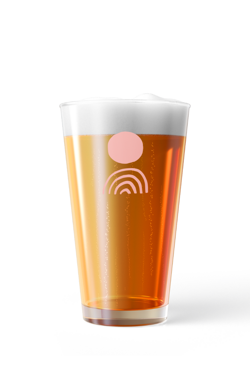 Shaker Pint Glass