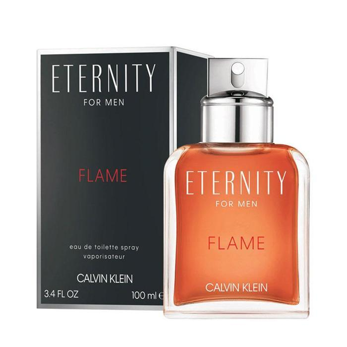 CK Eternity Flame 3.4 oz EDT for men