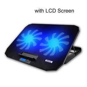 Jelly Comb Gaming Laptop Cooler Adjustable Speed 2 Usb Ports And 2 Coo Artystore Website
