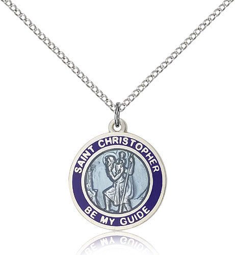 St. Christopher Medal 0192BBSS