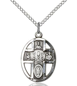 First Communion Five Way Chalice Pendant  0879