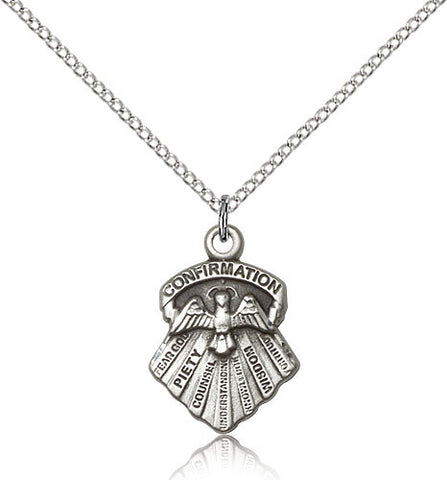 Seven Gifts of the Holy Spirit Medal 0886